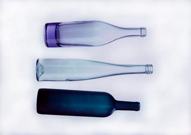 láhve skleněné