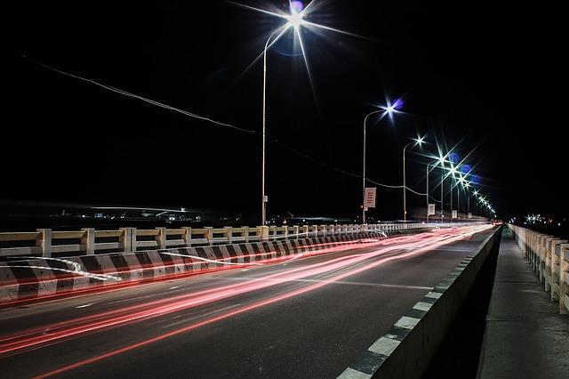 osvětlení silnice