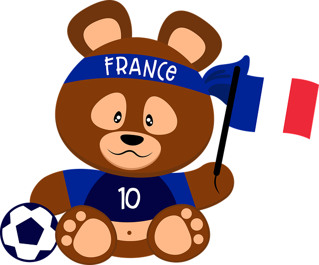 plyšák Francie