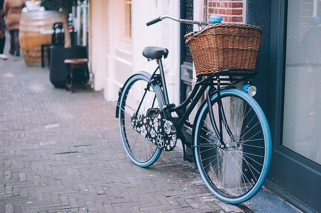 košík na kole