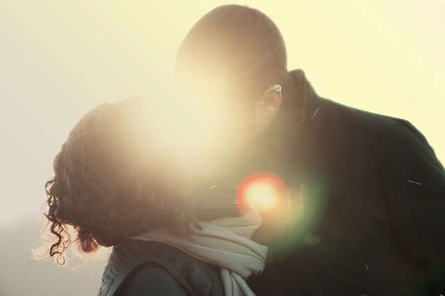 Vášnivý polibek